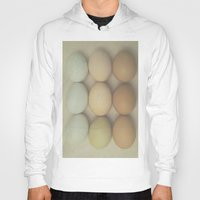 eggs Hoodies featuring Eggs by Pure Nature Photos