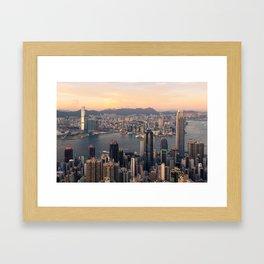 HONG KONG 08 Framed Art Print