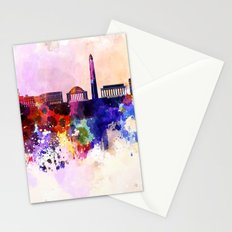 Lets go to USA Stationery Cards