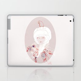 Portrait with Chick Laptop & iPad Skin