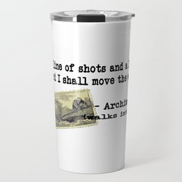 Archimedes Walks Into A Bar #2 Travel Mug