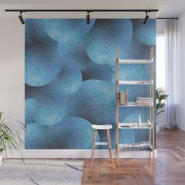Danube Steel Blue Wall Mural