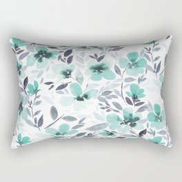 Espirit Mint  Rectangular Pillow