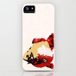 Gold Fish 1 iPhone Case