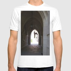 Archway Mens Fitted Tee MEDIUM White