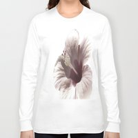 hibiscus Long Sleeve T-shirts featuring Hibiscus by Lynn Bolt