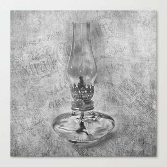 Still life - Kerosene Lamp Canvas Print