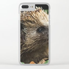 hedgehog Clear iPhone Case