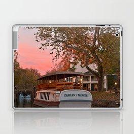 Autumn Twilight Canal Laptop & iPad Skin