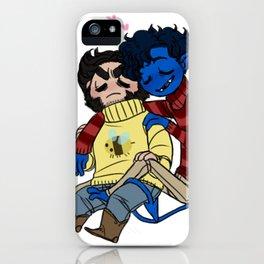 sweater buddies iPhone Case