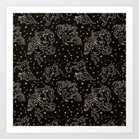 constellation Art Prints featuring Constellation by Cryptovolans