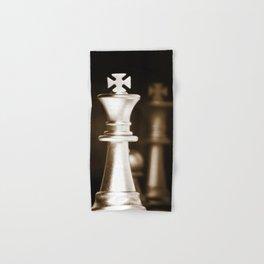 Chess-Sliver King Hand & Bath Towel