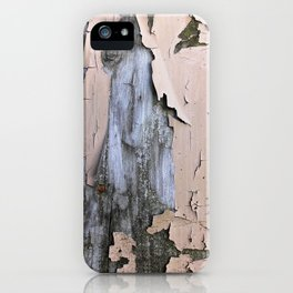 Wood & Paint iPhone Case