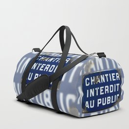 Keep Out! Duffle Bag