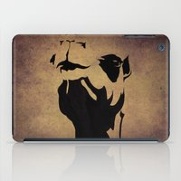 camel iPad Cases featuring camel by Mono Ahn