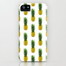 Pineapple Pattern Slim Case iPhone (5, 5s)
