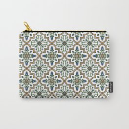 Spanish Tile Pattern – Andalusian ceramic from Seville Carry-All Pouch