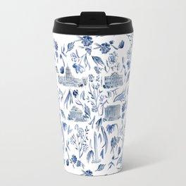 DC in Blue Travel Mug