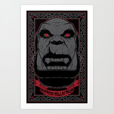 Garrosh Art Print