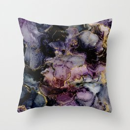 Volatile- Alcohol Ink Abstract Painting Throw Pillow