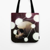 alchemy Tote Bags featuring Alchemy by Fabrice Gagos