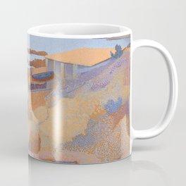 "Henri-Edmond Cross ""Coast near Antibes"" Coffee Mug"