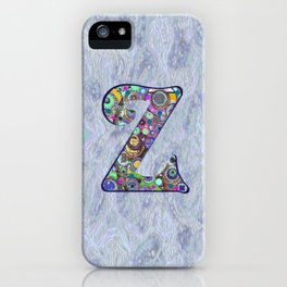 The Letter Z iPhone Case