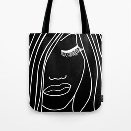 Onyx Portrait Tote Bag
