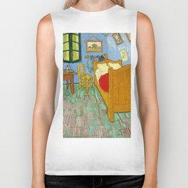 Vincent Van Gogh - The Bedroom Biker Tank