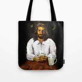 Coffee With Jesus Tote Bag