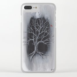 """""""Silent"""" Clear iPhone Case"""