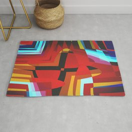 The Cross Rug