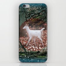 The White Deer Of Winter iPhone & iPod Skin