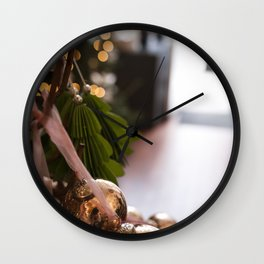 Ornaments Wall Clock