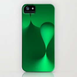 the color green iPhone Case
