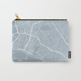 Oakland Map, USA - Slate Carry-All Pouch