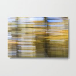 Forest Wipe – Wald-Wusch Metal Print