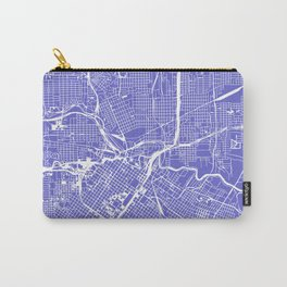 Houston City Map Art Carry-All Pouch