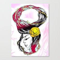 Rose Thorn Canvas Print