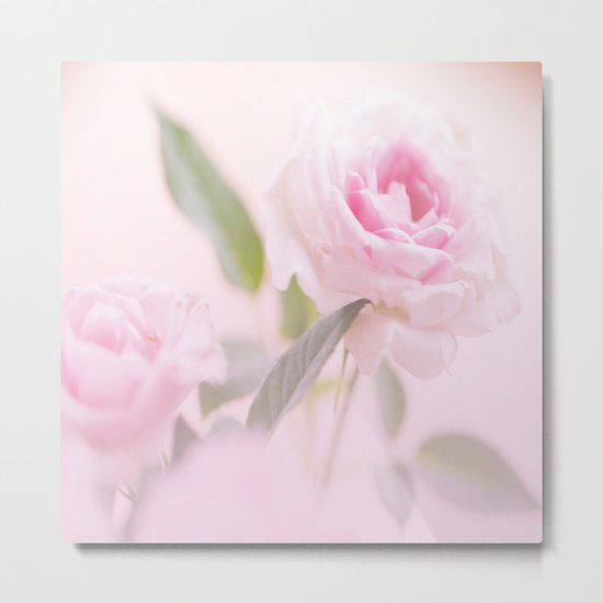 Good morning beautiful - soft mood - touch of romance - #Society6 #buyart Metal Print