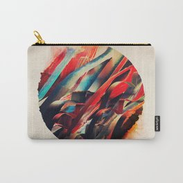 64 Watercolored Lines Carry-All Pouch
