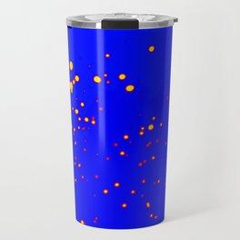 Puntos Tricolor  Travel Mug