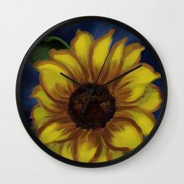 Dramatic Sunflower DP141118a Wall Clock