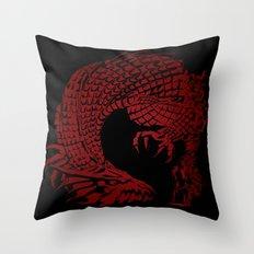 Son of the Dragon  Throw Pillow