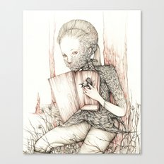 Drawings from personal  series Canvas Print