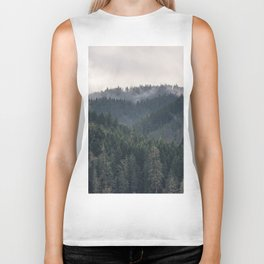 Pacific Northwest Forest - Nature Photography Biker Tank