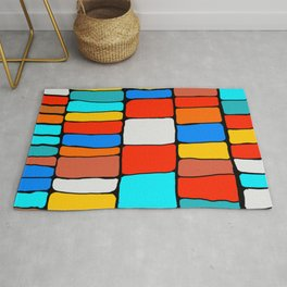 Cargo Ship Containers 8 Rug