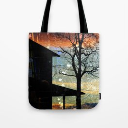 Winter Electric Tote Bag