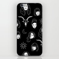 coven iPhone & iPod Skins featuring The Coven by Flash or Die!