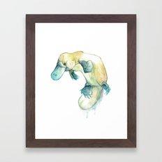 Platypus~  Framed Art Print